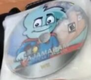 Pajama Sam Don't Fear The Dark Wii Ben Disc