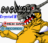 Digimon Crystal II - Title