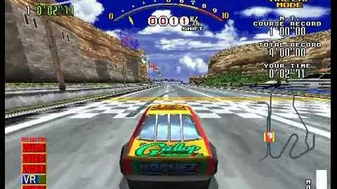 Daytona USA To The Maxx Demonstration
