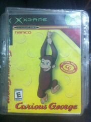 Curious George Xbox Classic fake