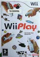 Wii Play Wii Ben Front Case