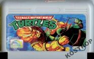 Teenage Mutant Ninja Turtles Golden Gard Cartridge