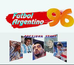 Futbol Argentino '96