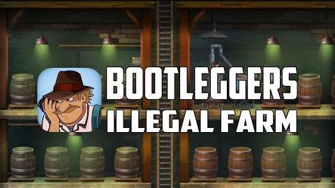 Bootleggers- Illegal Farm - The World's First Gangsters PVP Farm Game