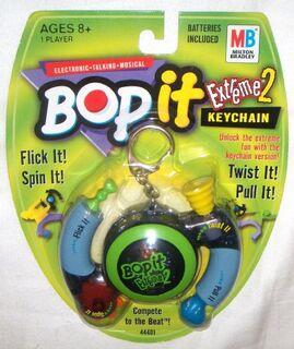 Bop it extreme 2 keychain