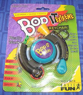 Bop it extreme keychain