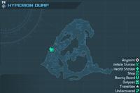 Гіперіонський Відвал Карта