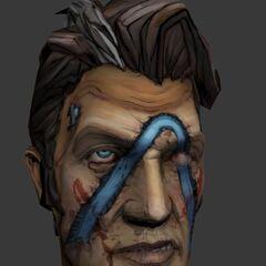 Обличчя під маскою Красунчика Джека.