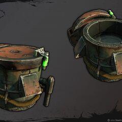 Бандитська коробка з патронами