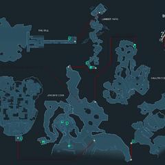 Карта місцевості.