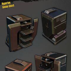 Гіперіонська скриня з патронами
