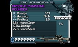 AR500-B Punishing Pounder