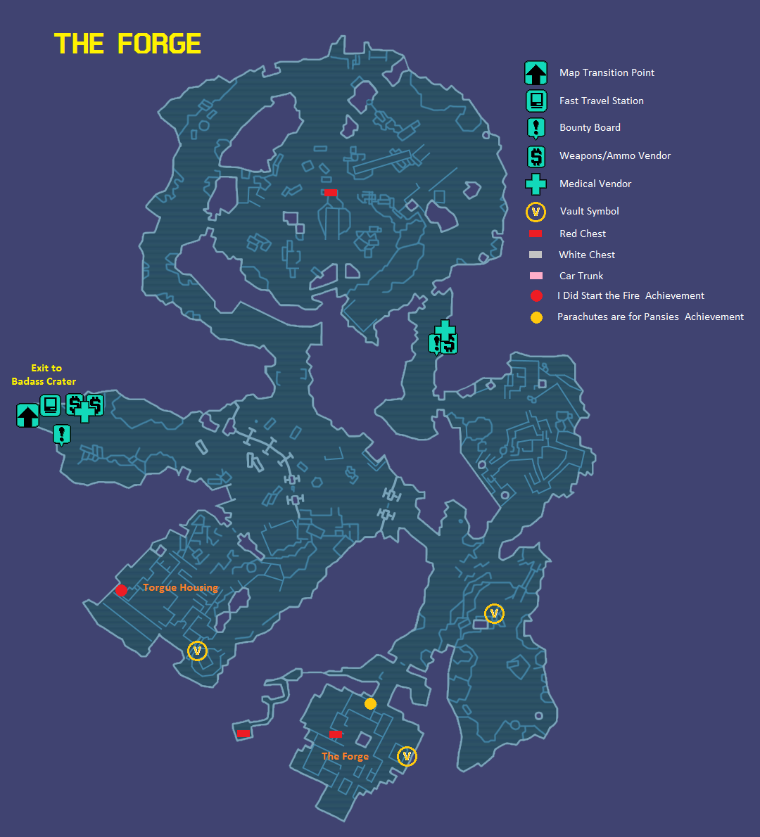 Image The Forge Mapg Borderlands Wiki Fandom Powered By Wikia