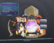 Фиолетовый пулененпробиваемый бустерный щит 26 уровня без стихии