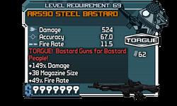 AR590 Steel Bastard-kmc