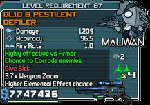 DL10 B Pestilent Defiler happypal