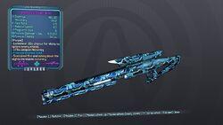 Investment Sniper Rifle 70ML Purple Cryo