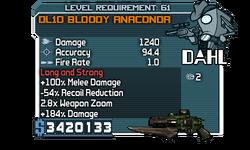 DL10 Bloody Anaconda 1240