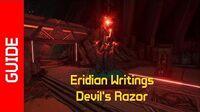 Devil's Razor Eridian Writings