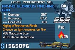 AR440 Glorious Machine Gun (Draco) OBYC