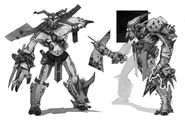 Borderlands2 tiny tinas assault on dragon keep - creature orc sketches by kevin duc