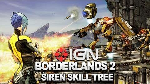 Borderlands 2 Siren Skill Tree - Developer Walkthrough