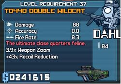 TD440 Double Wildcat