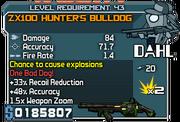 Zx100 hunters bulldog 43