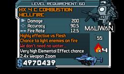 HX 4 C Combustion HellFire