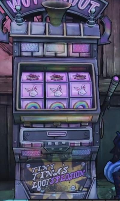 Slot machine borderlands 2