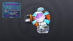 LV 16 Dashing Shock Spike Shield