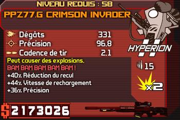 PPZ77.G Crimson Executioner