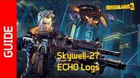 Skywell-27 ECHO Recordings