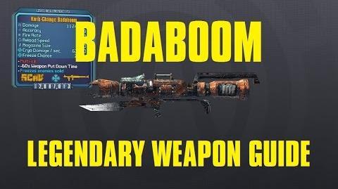 Badaboom Legendary Skav Launcher Borderlands The Pre-Sequel!