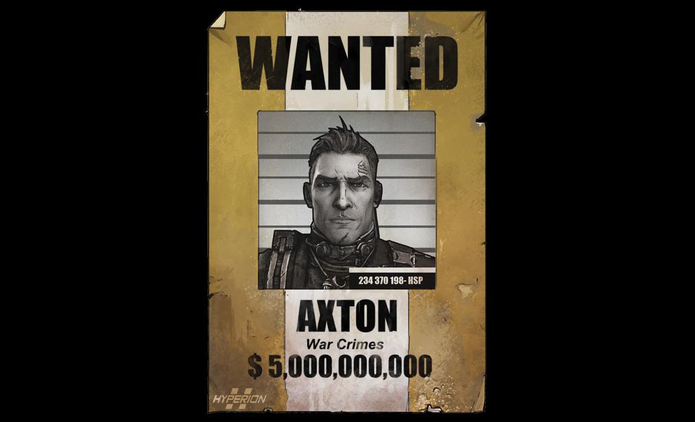 AxtonWanted1 Axton Borderlands Wiki FANDOM