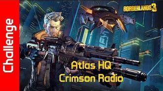 Atlas HQ Challenge Crimson Radio