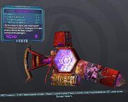 BorderlandsPreSequel - стероидный щит (26) фиолетовый