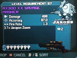 AX300 XX SAVAGE MASHER