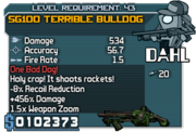 Sg100 terrible bulldog 43