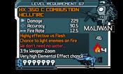 HX 350 C Combustion HellFire