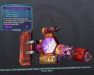 BorderlandsPreSequel недовольный стероидный щит (26) фиолетовый