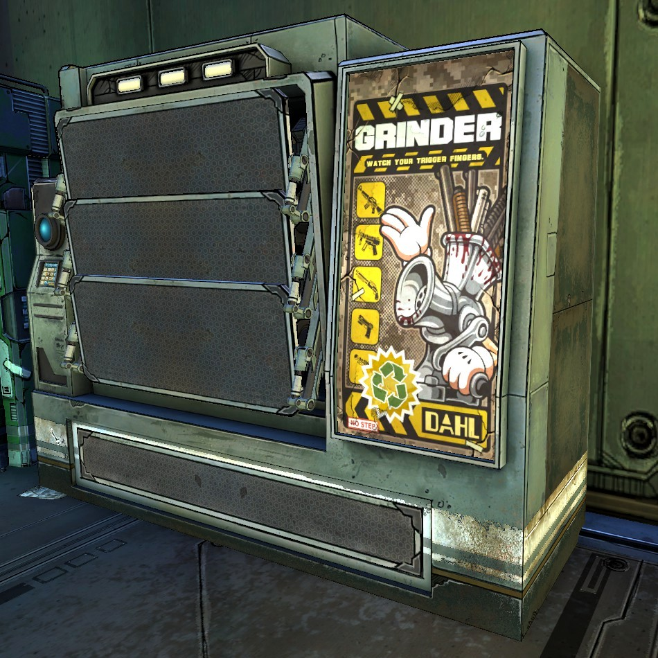 Grinder | Borderlands Wiki | FANDOM powered by Wikia
