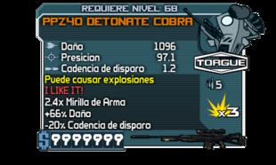 PPZ40 Detonating Cobra