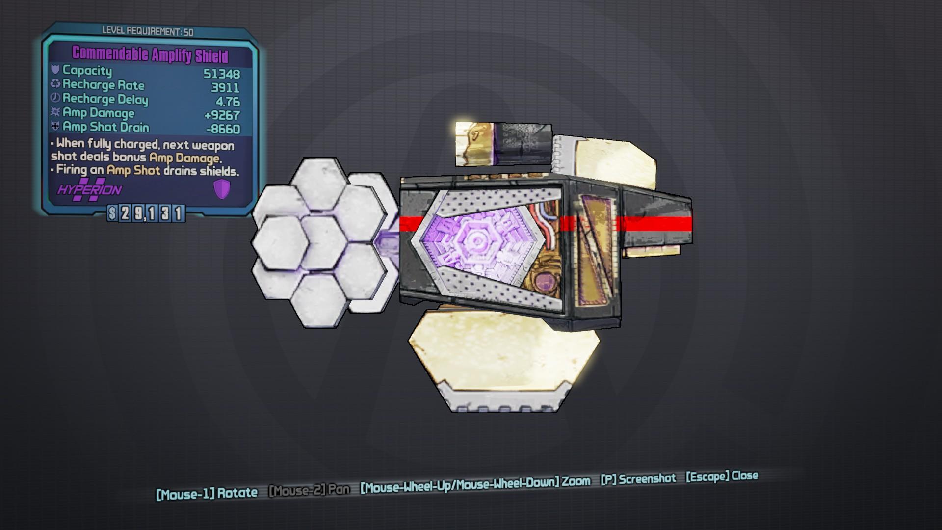 Amplify Shield | Borderlands Wiki | FANDOM powered by Wikia