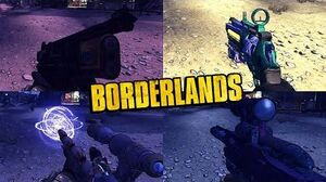 Borderlands 1 - All Unique Weapons - Animations, Sounds & Effects