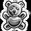 Медведь из нержавеющей стали