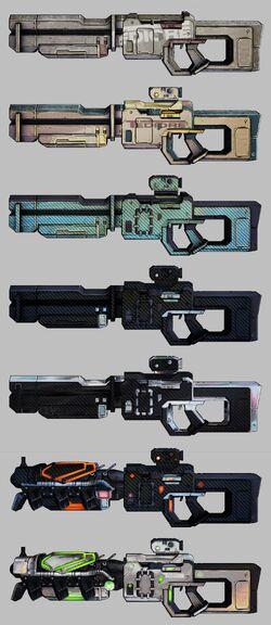 Tediore BL2 Gun Range