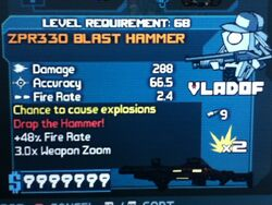 ZPR330 BLAST HAMMER