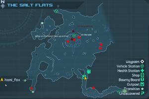 The Salt Flats carte