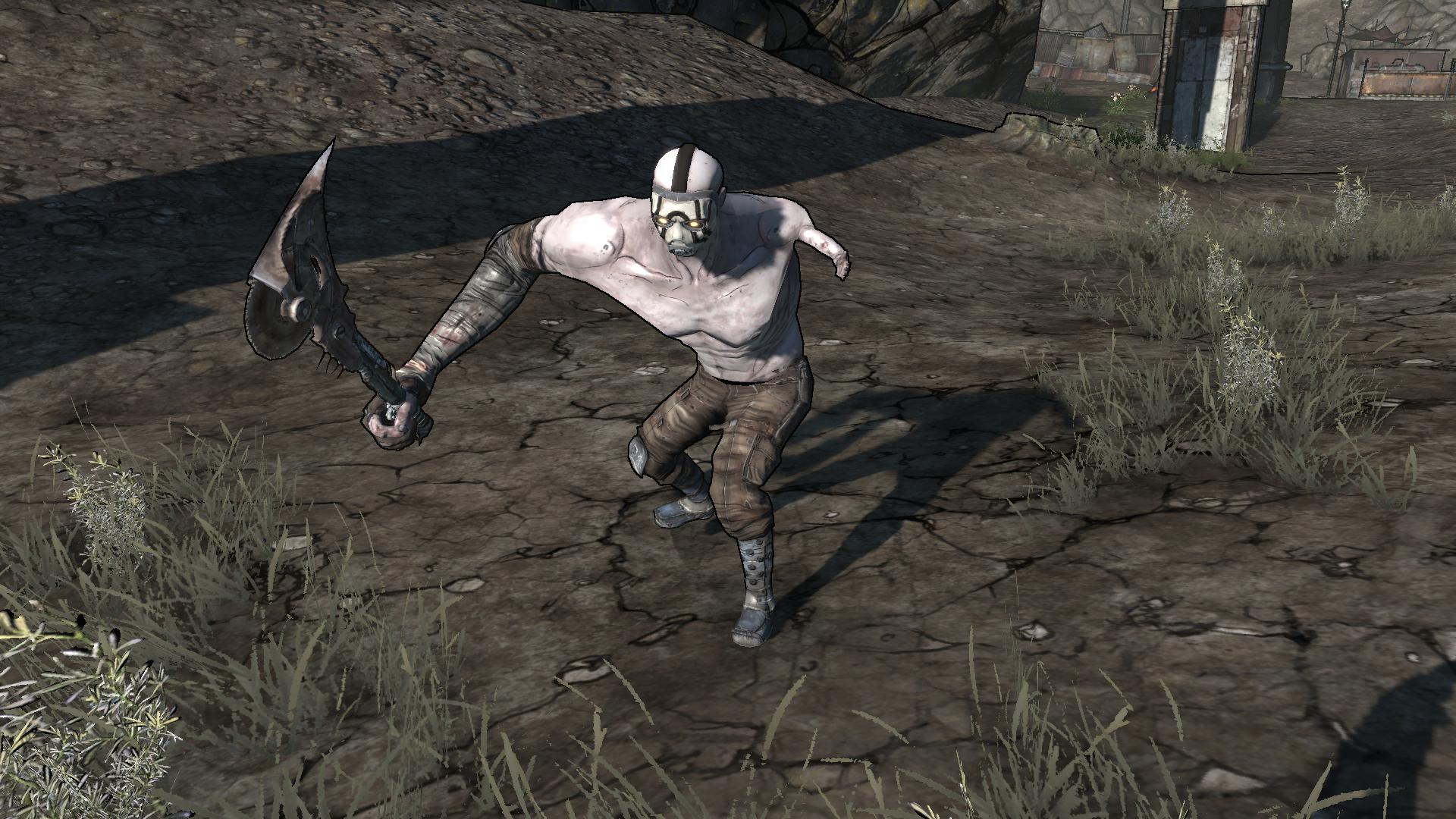 Borderlands mutant midget psyco